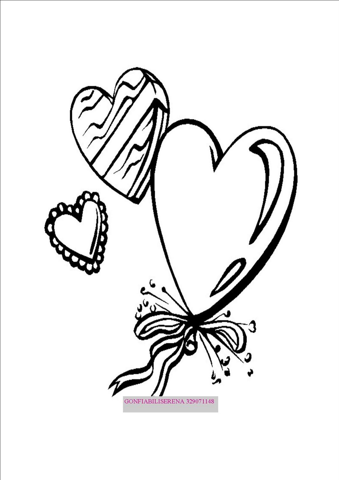 Gonfiabiliserena disegni gratis da colorare per san valentino for Disegni da colorare cuori
