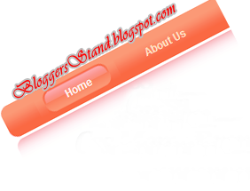 Add Glossy Style Red Colour CSS3 Navigation Menu Bar for blogger