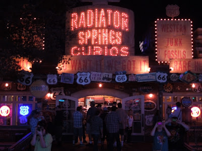 Radiator Springs Curios gift shop in Cars Land