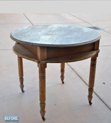 reciclar una mesa