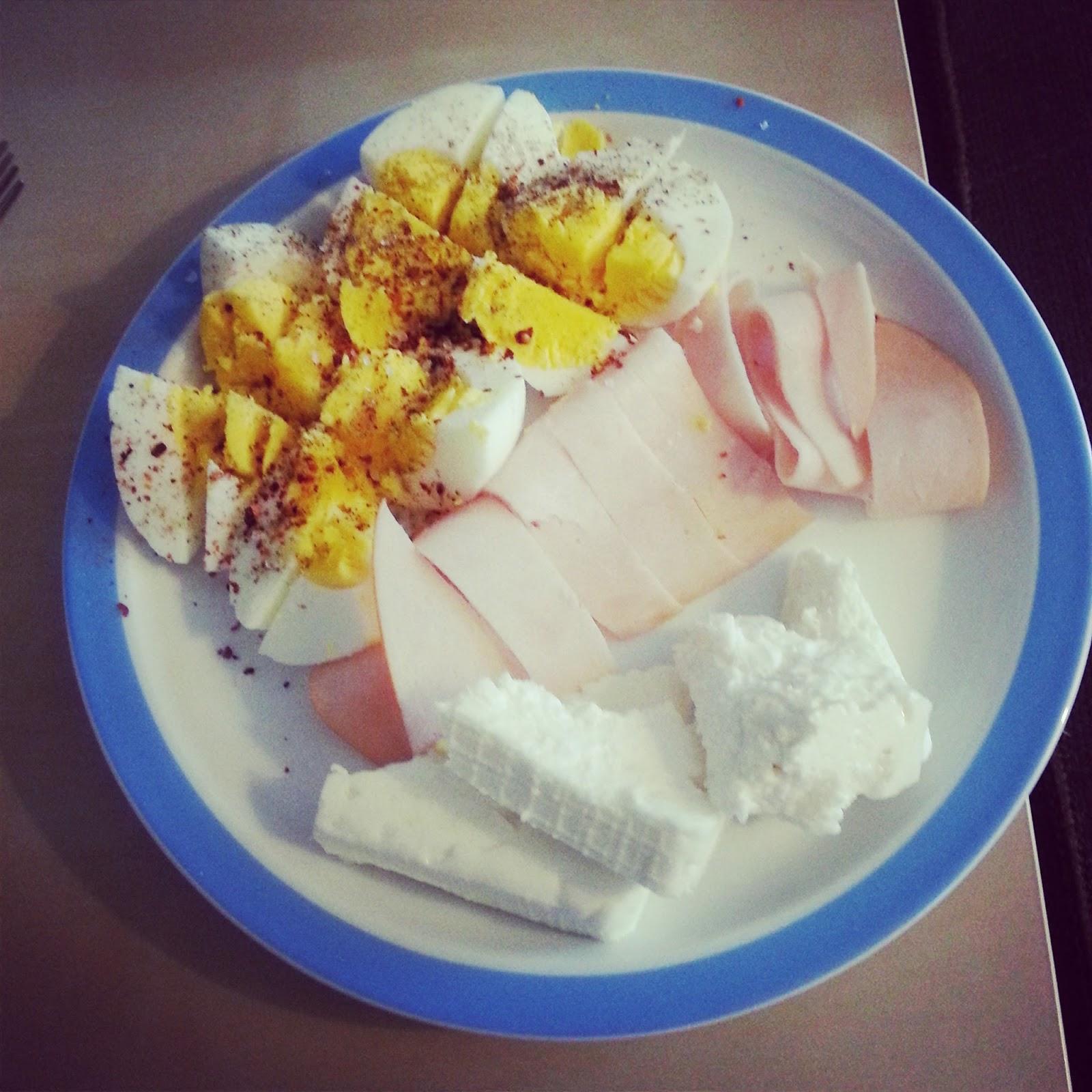saf protein kahvaltı