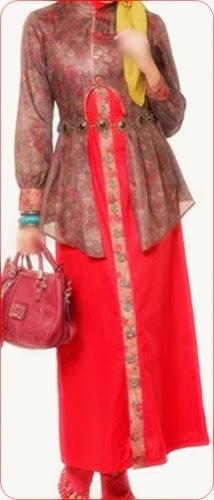 model baju batik muslim shoping belanja