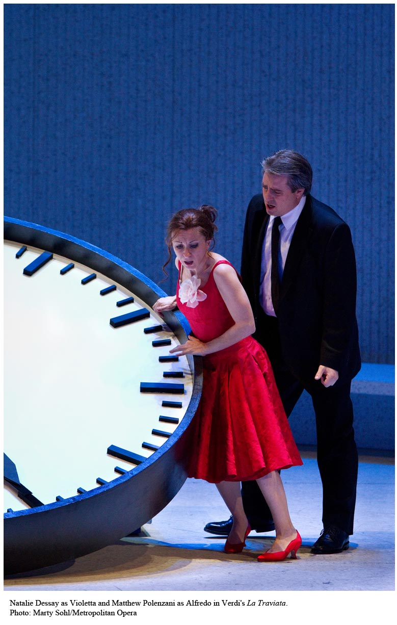 dessay traviata review The reinvention of verdi's masterpiece, la traviata, as sung by world-famous french coloratura soprano natalie dessay, is the subject of philippe béziat's thrilling.