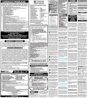 iklan loker Lowongan kerja koran kompas Minggu 10 Maret 2013