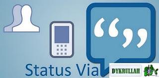 Update Status Facebook Via Apa Saja Terbaru