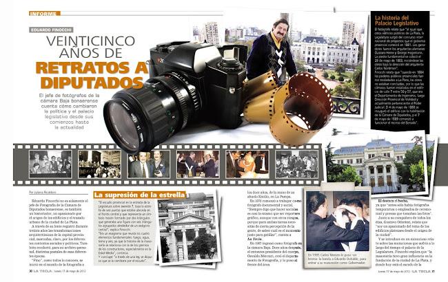 "Nota en ""La tecla"" Mayo 2012"