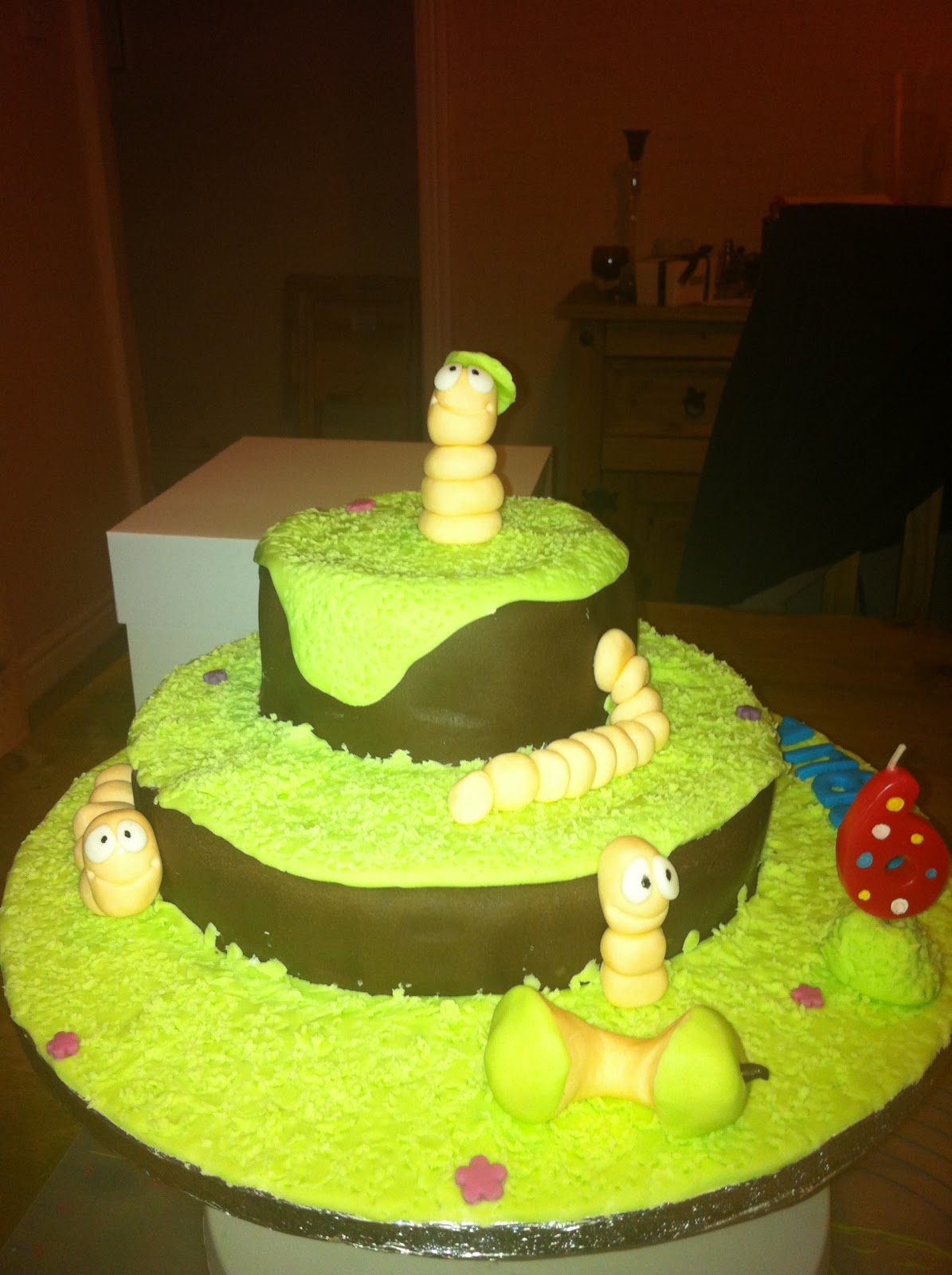 My Life In Cakes Wiggly Worm Cake