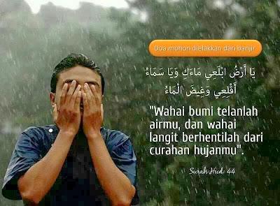 doa sempena musim banjir