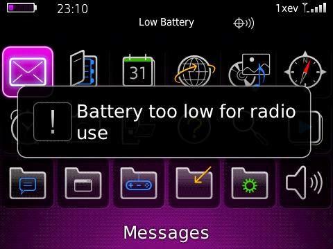 Cara Menghemat Baterai Smartphone Blackberry