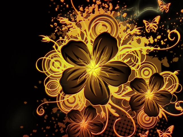 Black Flowers Wallpapers   Beautiful Flowers Wallpapers