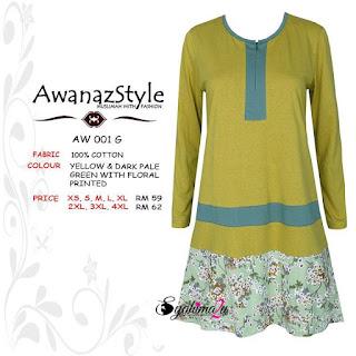 T-Shirt-Muslimah-Awanazstyle-AW001G