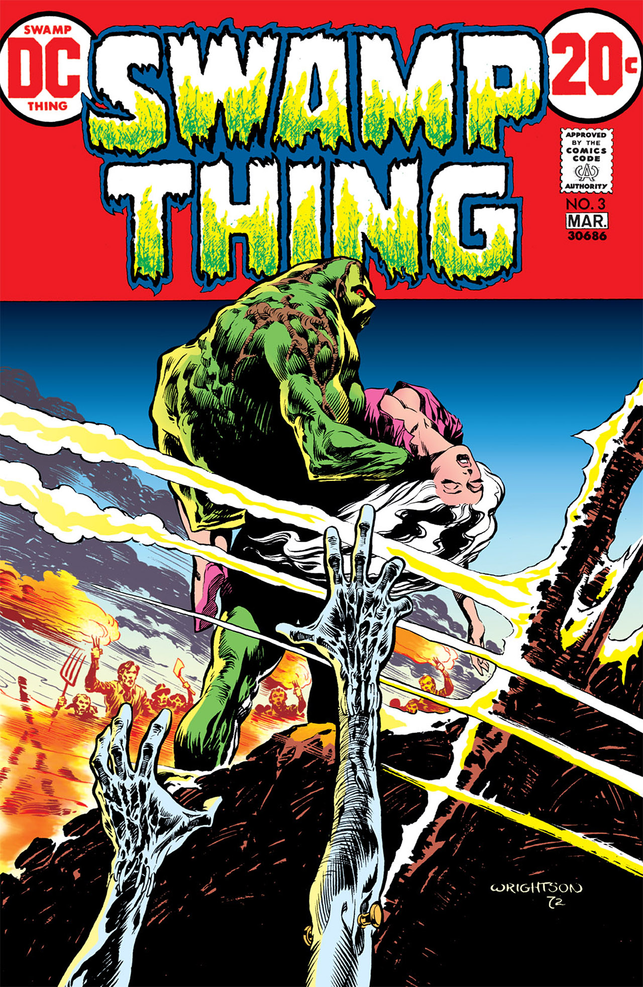 Swamp Thing (1972) Issue #3 #3 - English 1
