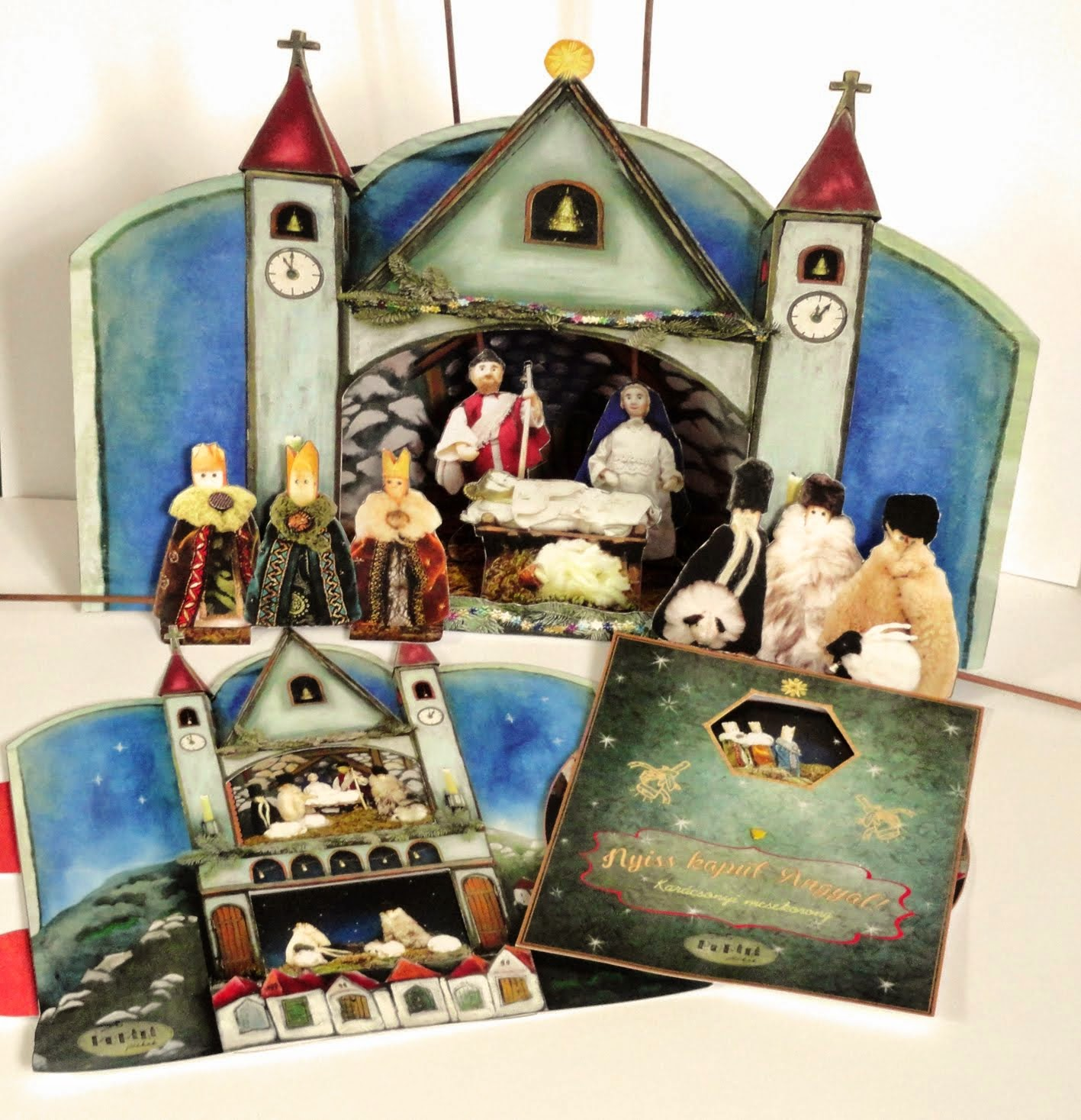 Betlehemes sorozat / Nativity play set