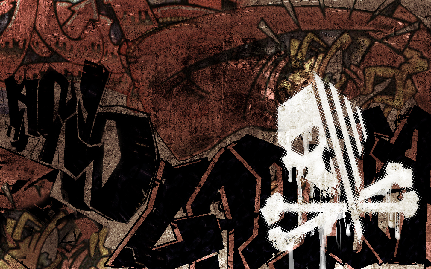 graffiti wallpaper skull hd - photo #4