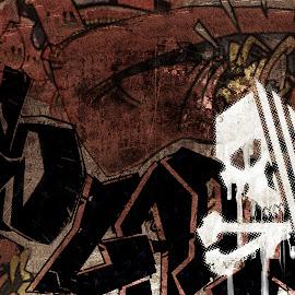 Gambar-gambar graffiti jalanan