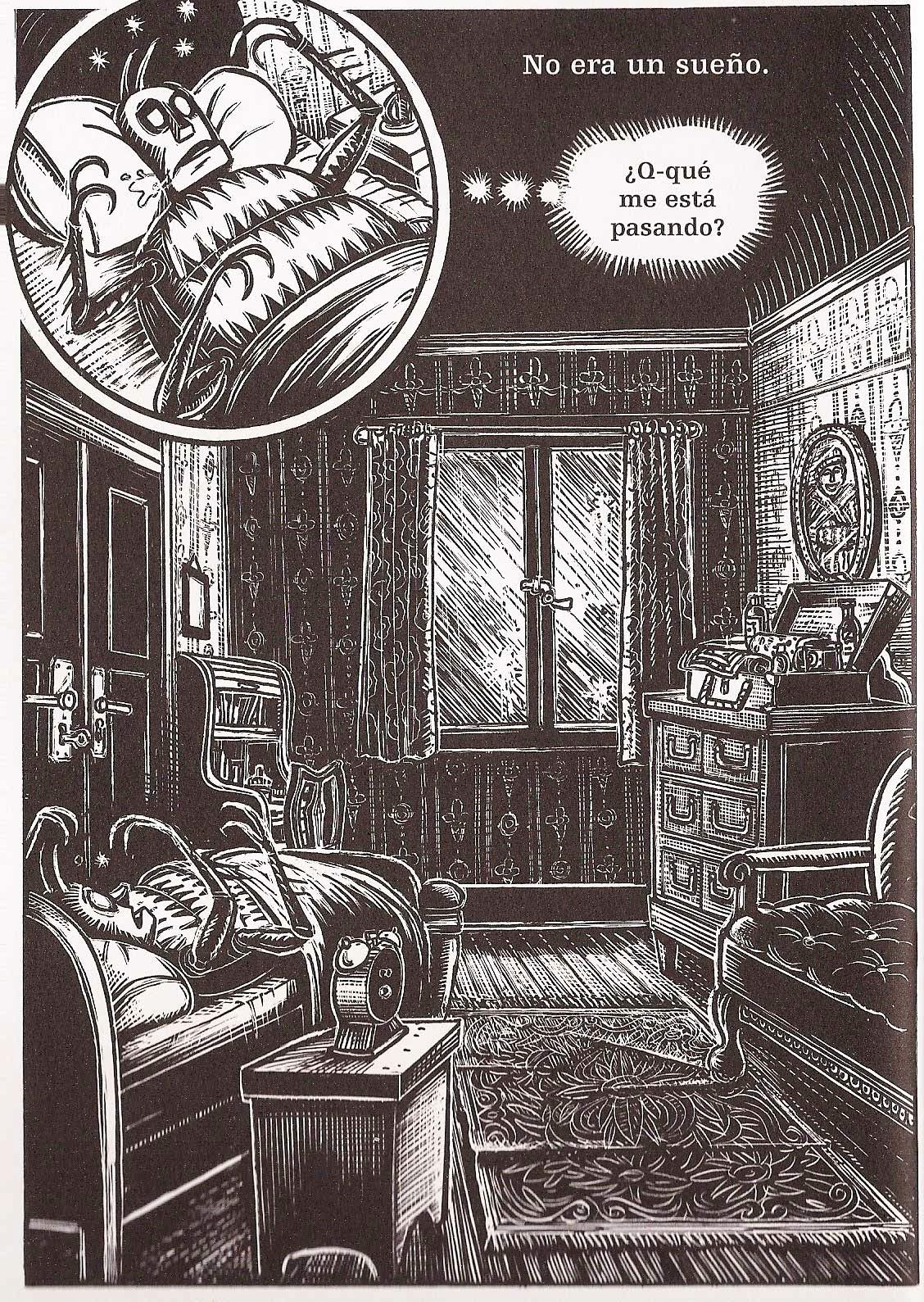 comic metamorfosis kafka