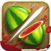 fruit ninja iPad and iPhone