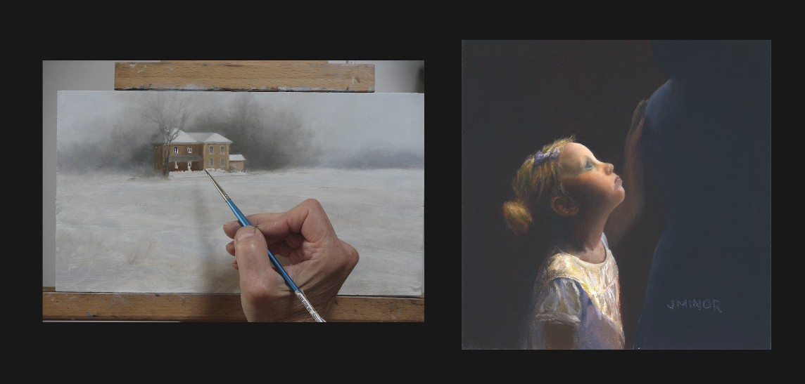 NEW, a video of time lapse paintings plus more