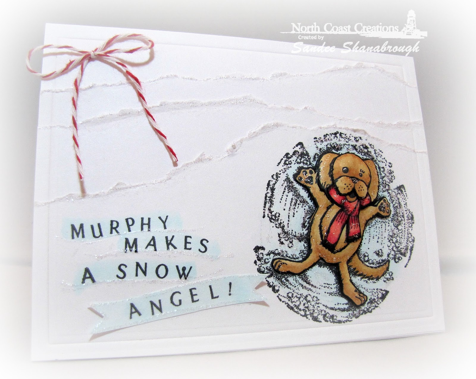 Stamps - North Coast Creations Snow Angel Murphy, ODBD Pennant Swag Alphabet