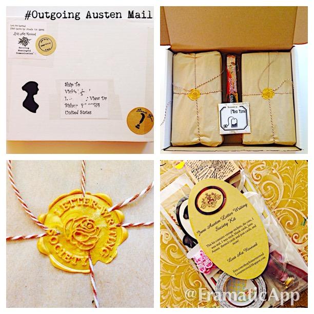 Jane Austen Letter Writing Society Kit