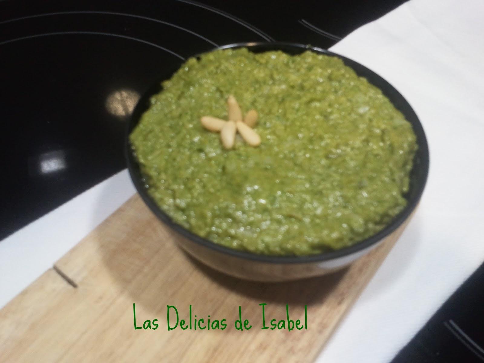 Salsa pesto las delicias de isabel - Como se hace la salsa pesto para pasta ...