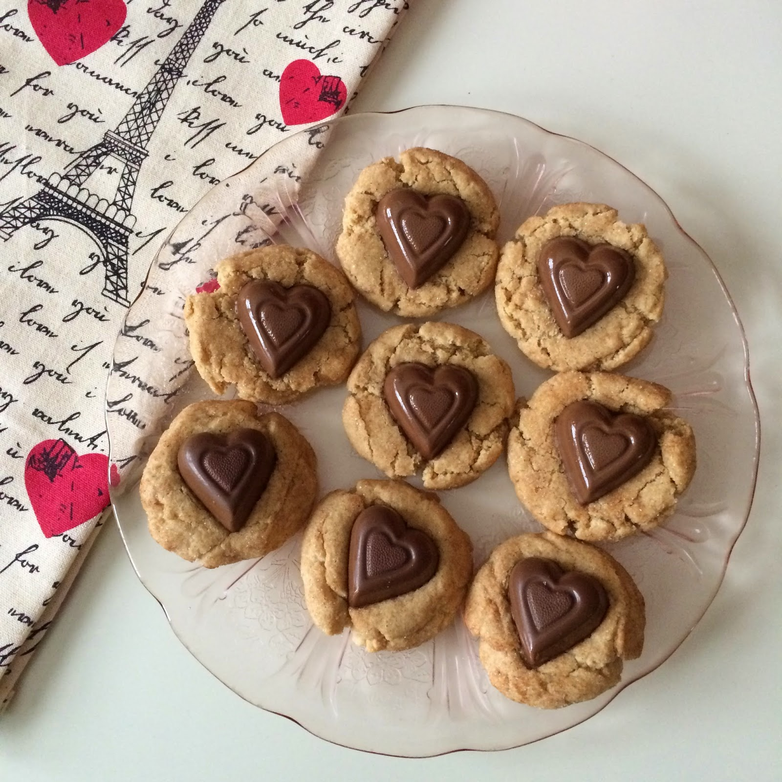 Cookies, Valentine's Day, Peanut Butter Snickerdoodles, Recipe