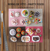 Miniature Food Book - Livre Miniature Fimo - Fimo Miniaturen Buch