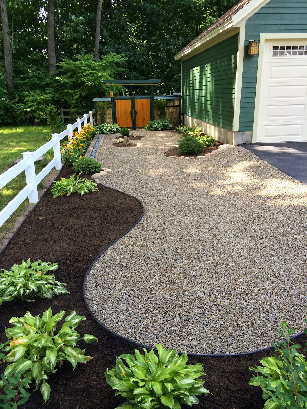 My zen garden garden features for Backyard japanese garden ideas