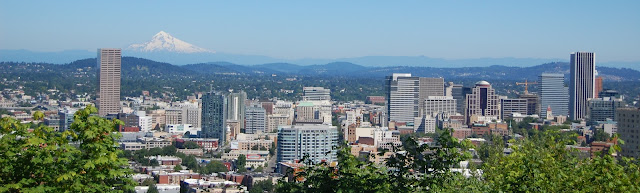 Portland, Oregon, Mount Hood, hometown
