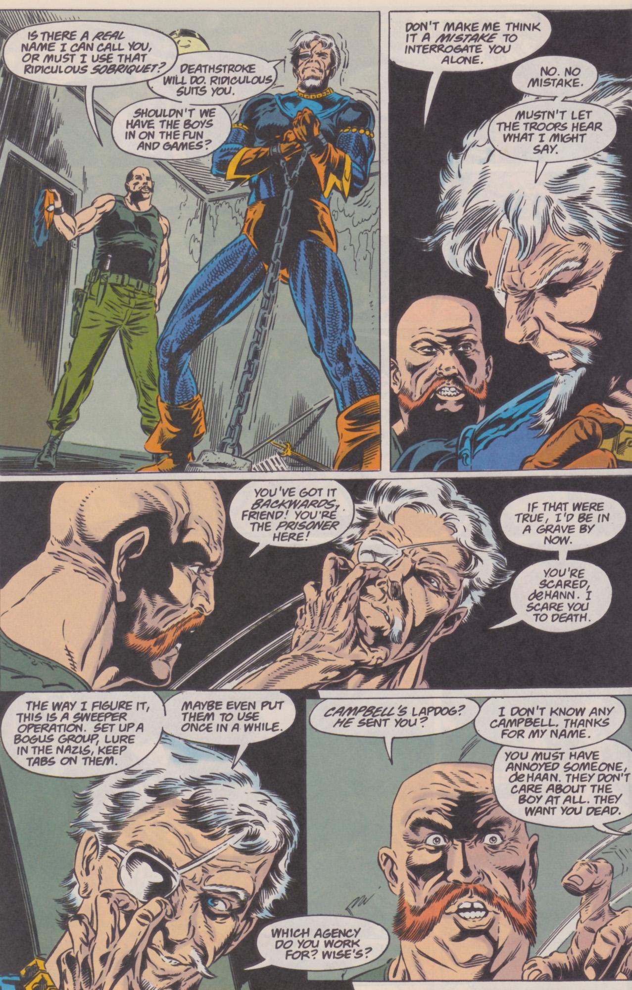 Deathstroke (1991) Issue #22 #27 - English 19