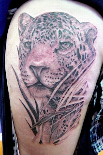 Leopard+tattoo