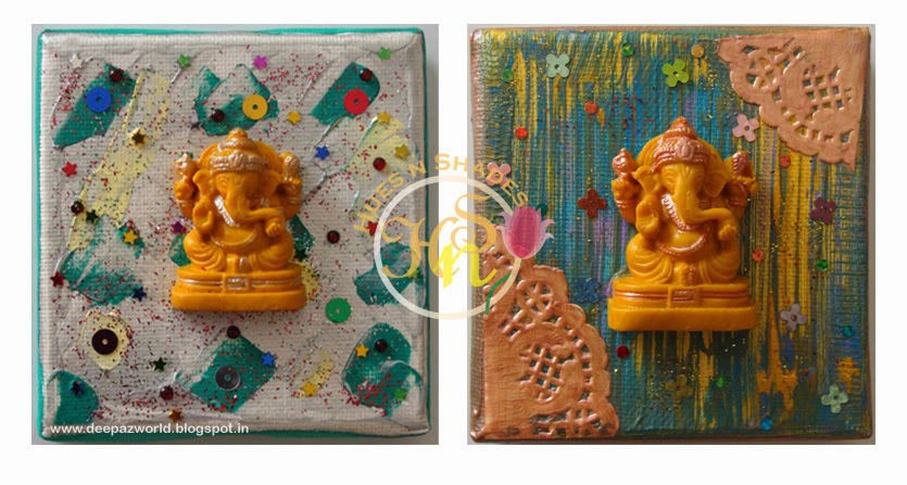 Mixed-Media-Ganeshas-Sparkle-and-Doily-Hues-n-Shades