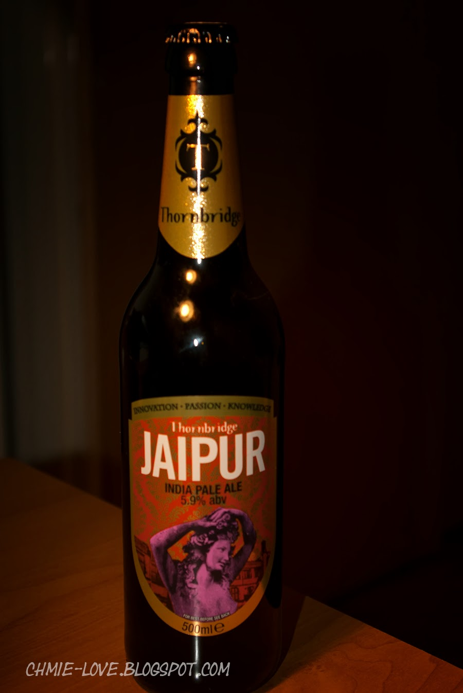 Browar Thrnbridge, india pale ale Jaipur