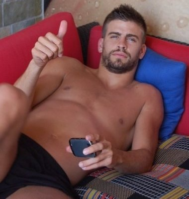 SOCCER PLAYER GERARD PIQUE