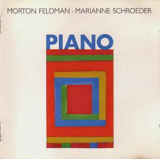 Morton Feldman, Piano, Marianne Schroeder, hat Hut