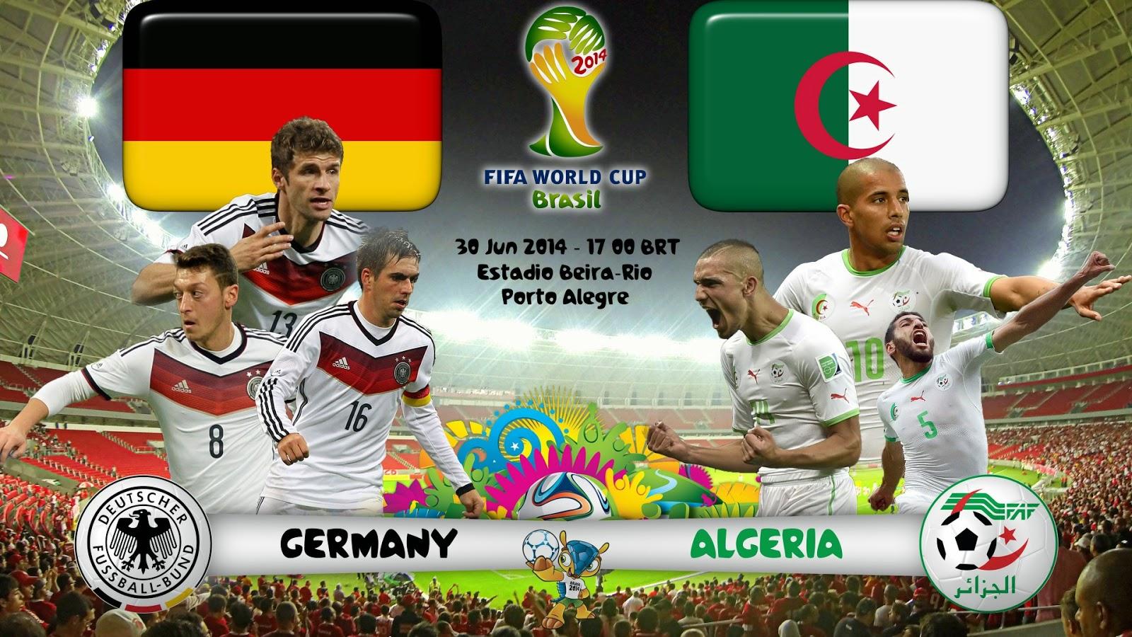 jerman VS algeria