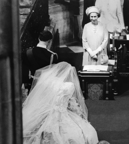 Iconic Wedding Prince Charles And Diana Spencer Red