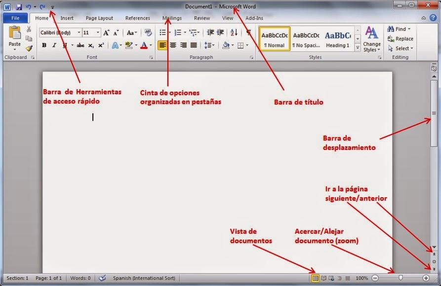 TECNOLOGÍA RIHONDO PRIMARIA: WORD