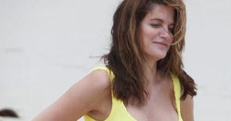 Stephanie Seymour Yellow Bikini Softly Temperature: 10...