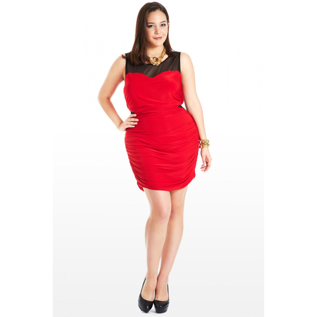 5 last minute affordable valentines day dresses for plus size women - Plus Size Valentine Dresses