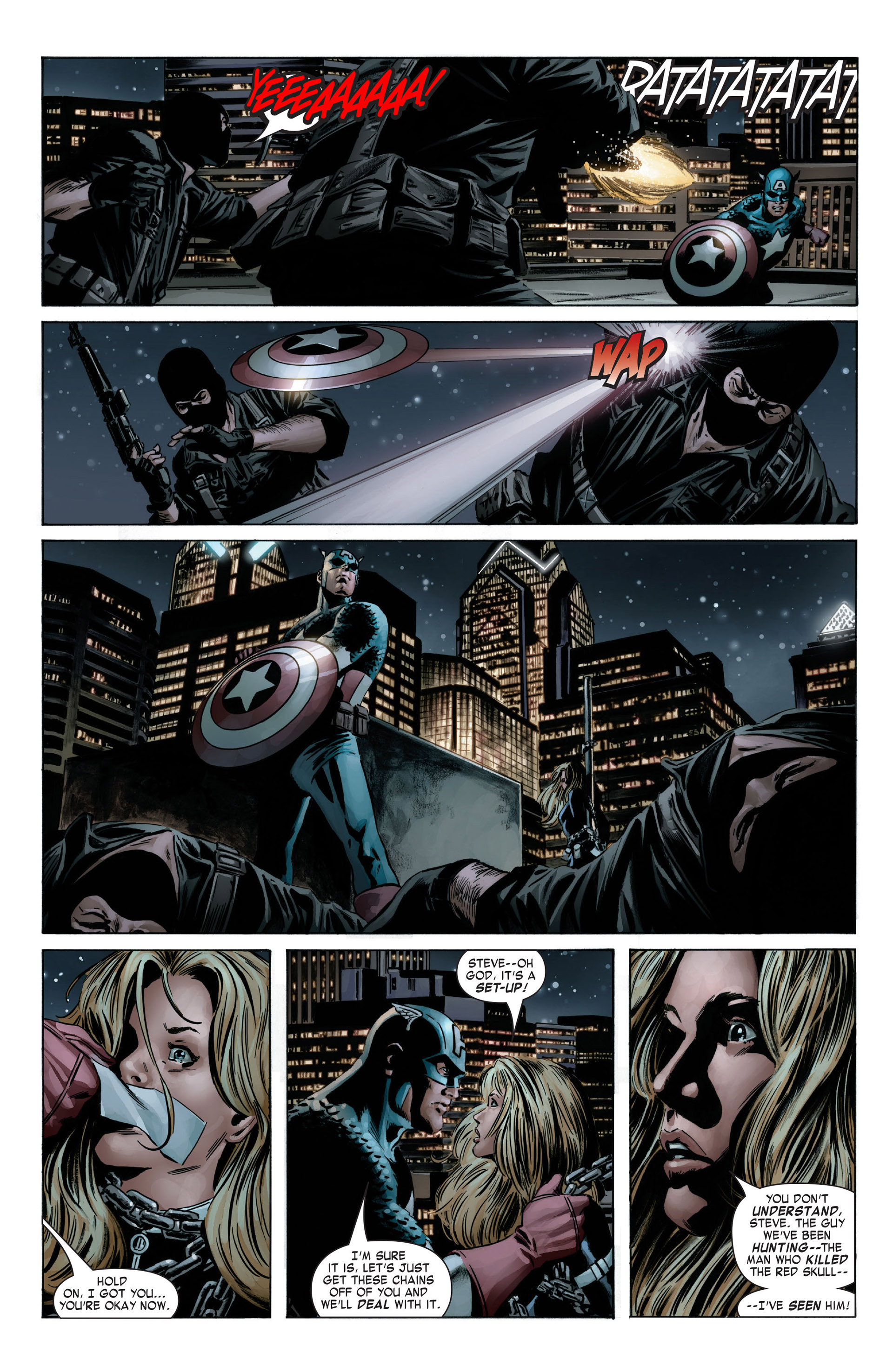 Captain America (2005) Issue #6 #6 - English 17