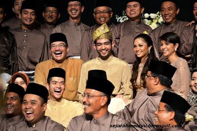 Gambar Majlis Perkahwinan Anak Datuk Hishamuddin & Datuk K