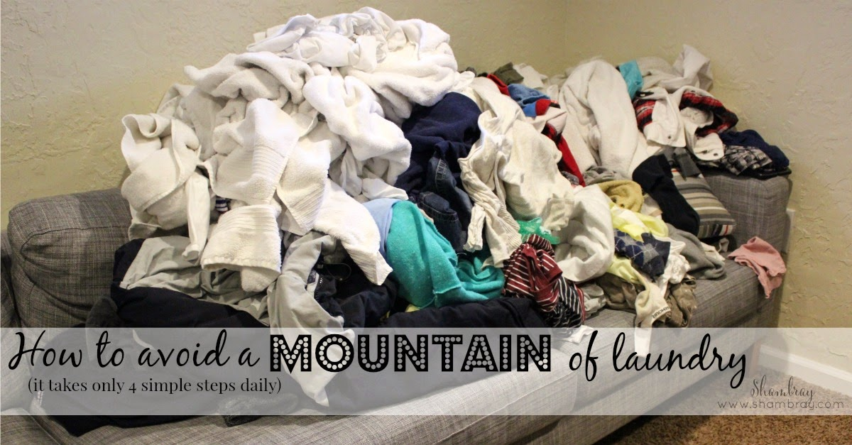 laundry, wash, dry, fold, put away