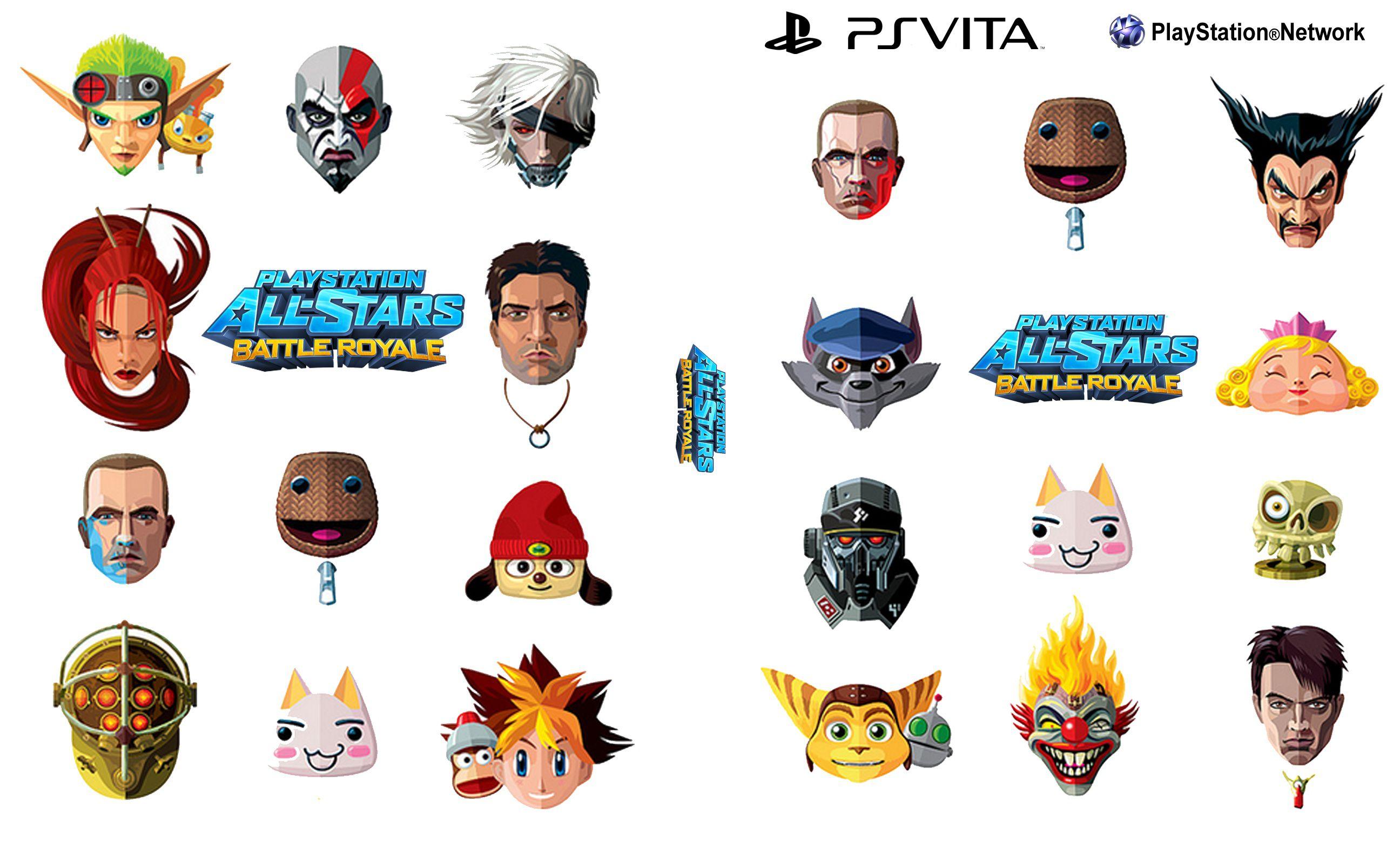 Capa Playstation All-Stars Battle Royale PS Vita