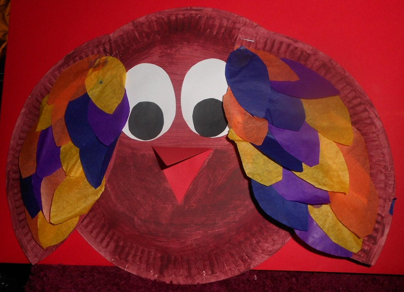 Paper Plate Bird & Jamesu0026May Arts and Crafts Blog: Paper Plate Bird