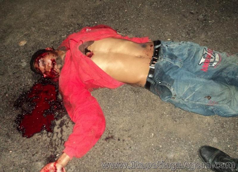 ESTUPRADOR DE ITAMBÉ FOI MORTO COM VÁRIOS TIROS NA NOITE DE SEGUNDA.