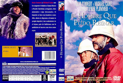El hombre que pudo reinar |1975 | The Man Who Would Be King | Caratula, cover, dvd