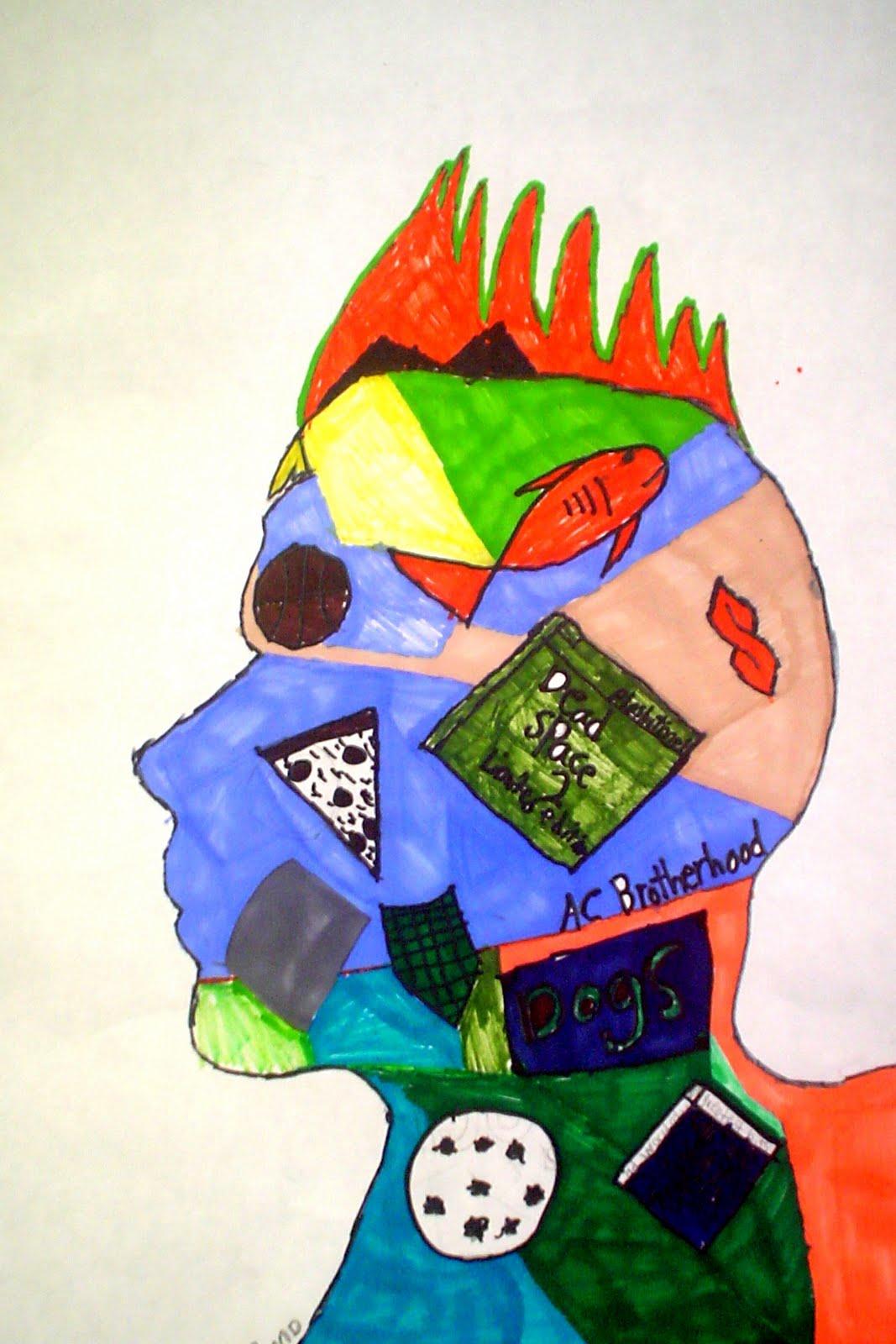 Self Portrait Drawings For Kids