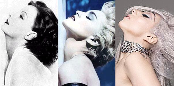 Garbo Madonna From Greta Garbo to Madonna