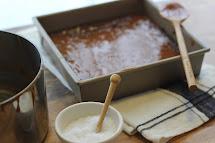 Barefoot Contessa Salted Caramel Brownies
